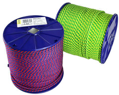 3847 - BRAIDED . POLYPROPYLENE ROPE . PARALLEL CORE
