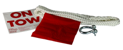 3851 - BRAIDED . POLYPROPYLENE TOW ROPE . HOLLOW CORE