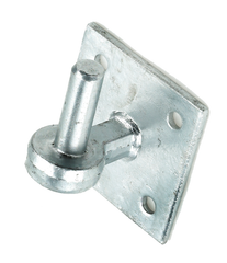 "8254 - GATE HANGERS ON 4"" X 4"" PLATE"