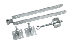 8332 - SET WITH GATE HANGERS & ADJUSTABLE BOTTOM FITTINGS