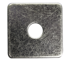 9336 - SQUARE PLATE WASHER • BRIGHT ZINC PLATED