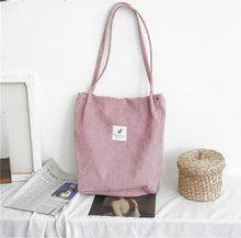 Load image into Gallery viewer, Corduroy Tote