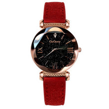 Load image into Gallery viewer, Womens Starry Sky Leather Watch