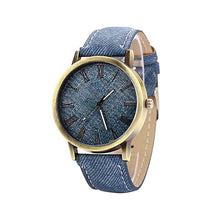 Load image into Gallery viewer, Womens Denim Watch