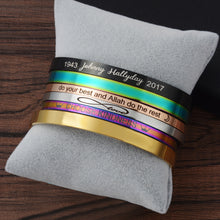Load image into Gallery viewer, Personalised Inspiration Bangle