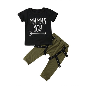 Mama's Boy Top & Harem Pants