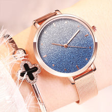 Load image into Gallery viewer, Women Starry Sky Mesh Watch