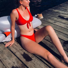 Load image into Gallery viewer, Knotted Bikini