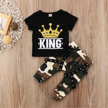 "Load image into Gallery viewer, Boys ""King"" Hip Hop Outfit"