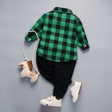Load image into Gallery viewer, Plaid Shirt & Pants
