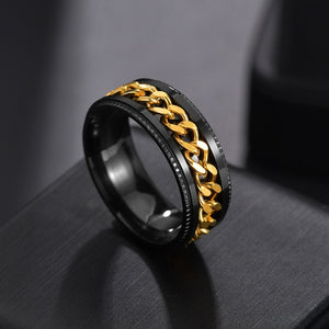 Chain Spinner Ring