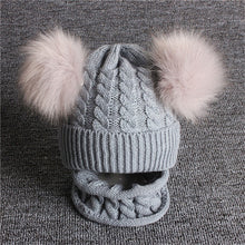 Load image into Gallery viewer, Double Pom Pom Beanie