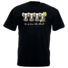 Load image into Gallery viewer, It's Ok To Be A Little Different T Shirt