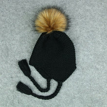 Load image into Gallery viewer, Crochet Beanie with Pom Pom