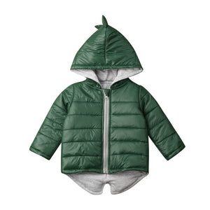 Dinosaur Hooded Jacket
