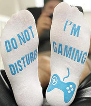 Load image into Gallery viewer, Do Not Disturb.. I'm Gaming Socks