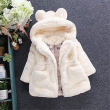 Load image into Gallery viewer, Bear Hooded Jacket