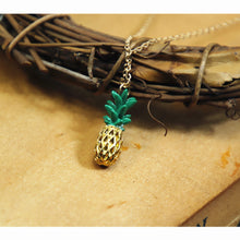 Load image into Gallery viewer, Pineapple Pendant Necklace