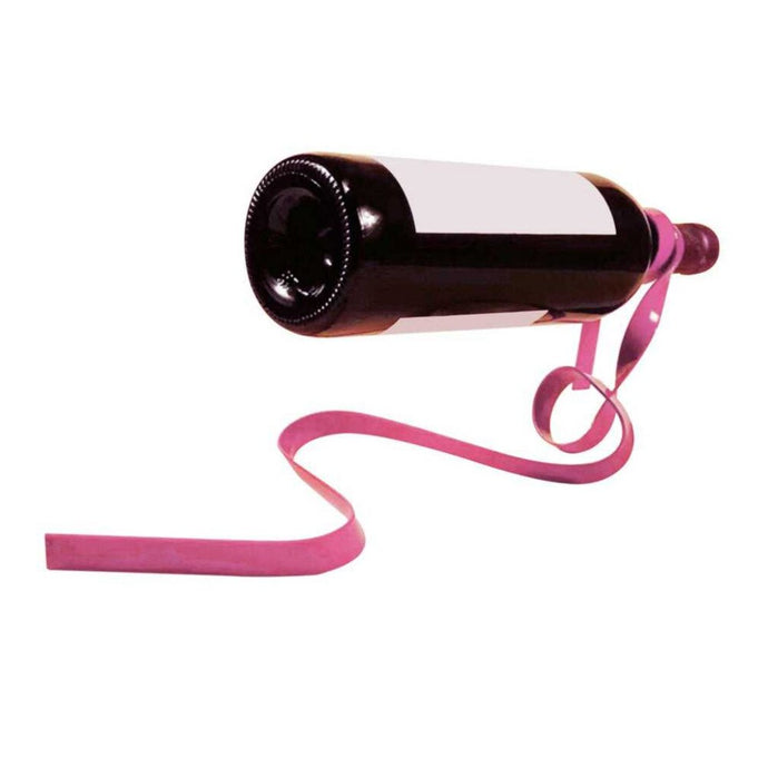Optical Illusion Ribbon Wine Stand