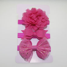 Load image into Gallery viewer, Flower Headband Set