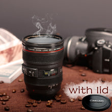 Load image into Gallery viewer, Camera Lens Mug with Lid
