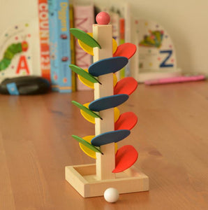 Colorful Leaves Wooden Sensory Toy