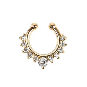 Crystal Ear Cuff/Nose Ring