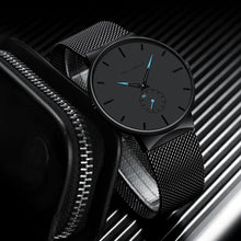 Load image into Gallery viewer, Mens Ultra Thin Watch