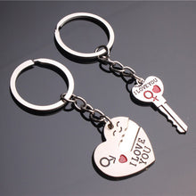 Load image into Gallery viewer, I Love You Couples Keychain