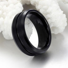 Load image into Gallery viewer, Black Titanium Ring