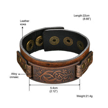 Load image into Gallery viewer, Leather Bracelet