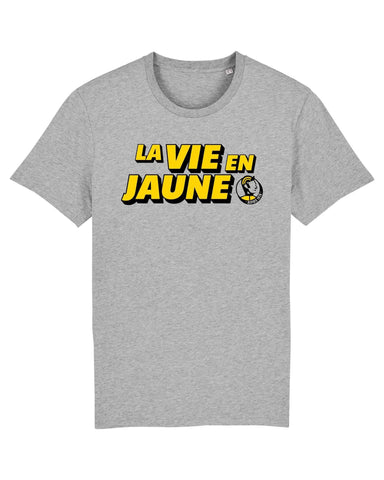 ÇOIS La Vie En Jaune men's Cycling T-Shirt