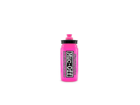 MUC-OFF juomapullo Elite Fly 550 ml Pink - Classy Cyclist Suomi
