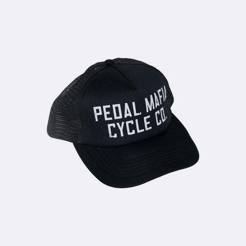 "PEDAL MAFIA Trucker Cap ""Cycle Co"" -lippis - Classy Cyclist Suomi"