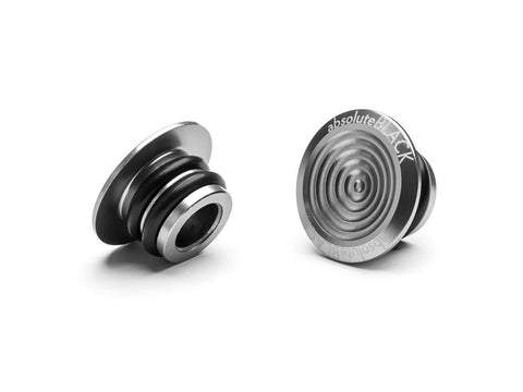 ABSOLUTEBLACK Bar End Plugs (alumiini) - Classy Cyclist Suomi