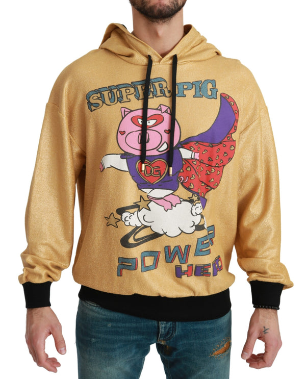Gold Pig of the Year Hooded Sweater