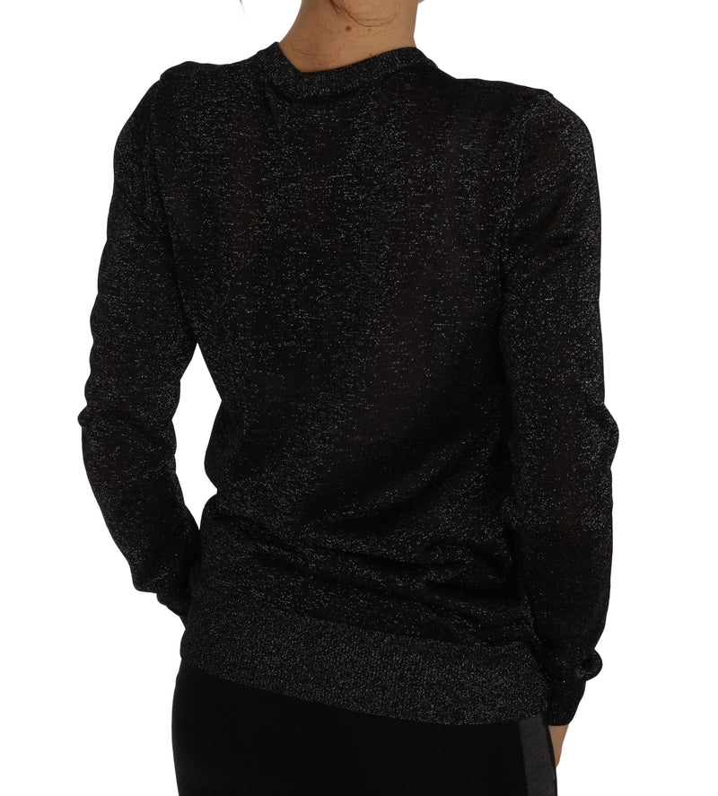 Black Cardigan Sweater Lightweight Top