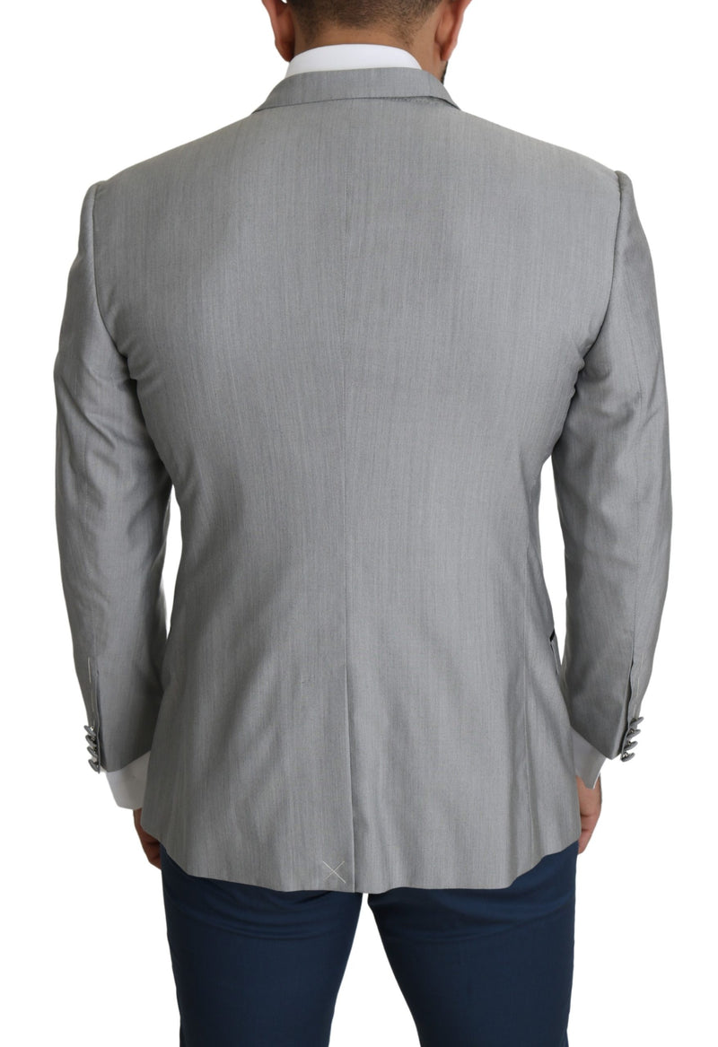 Black Wool Regular Fit Formal Vest