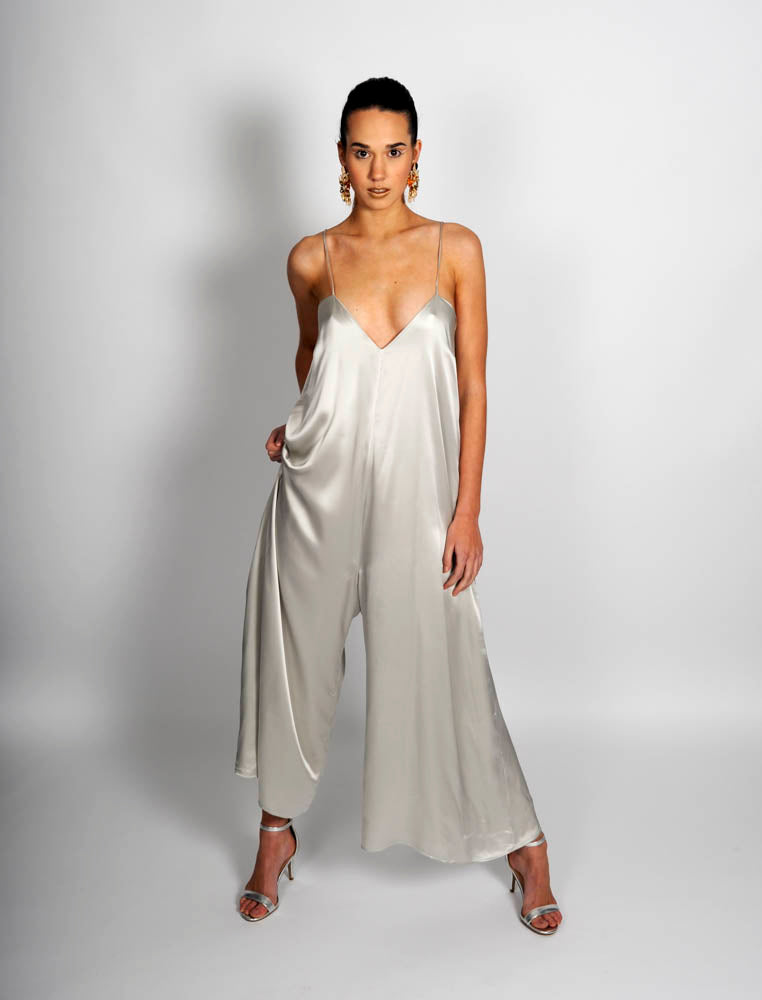 Silver Serpent Jumpsuit