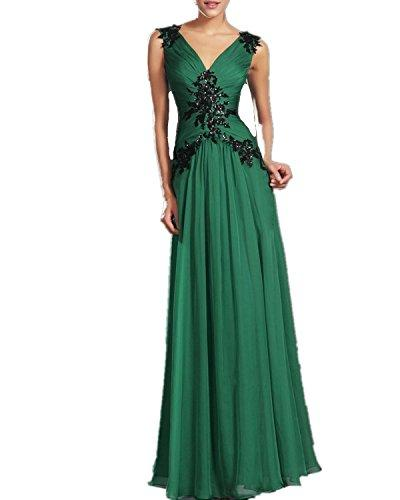 027 GREEN SIZE 8-14 Evening Dresses party full length prom gown ball dress Robe (14)