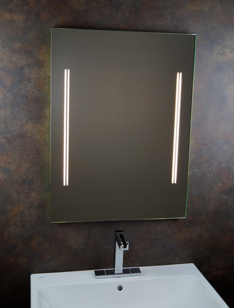 'Bathroom Mirror Bathroom Mirror Light Mirror Light Mirror 50 x 70 cm, including Side Switch/Nelly
