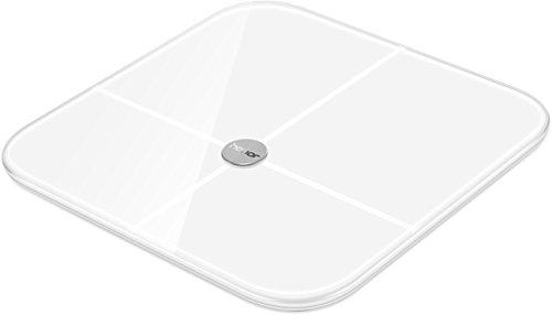 'HONOR AH100 Smart Scale Weighing Scales with Measuring Function of Different Values and Display in an app - White
