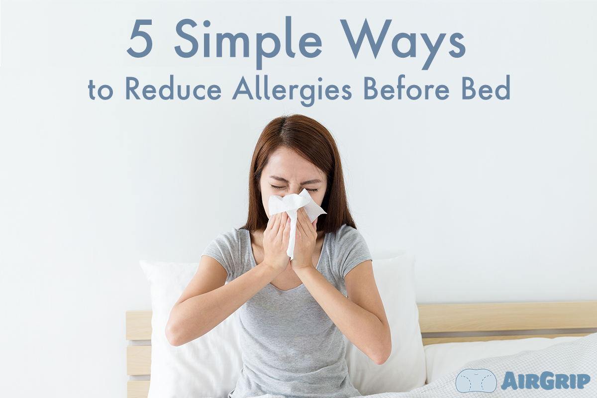 Allergy Strategy: 5 Effective Ways to Get a Good Night's Rest