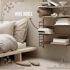 Wire Doble Estanteria