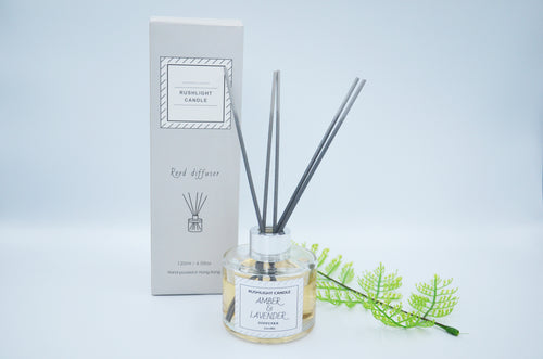Amber & Lavender Reed Diffuser 120ml