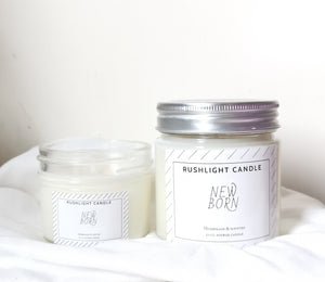 New born classic candle