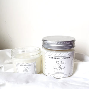Pear & woods classic candle