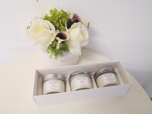 Heavenly Set- 3.4oz x 3 soywax candle