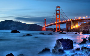 usa, bridge, architecture, landmark, california, bay, travel, red, city, tourism, tower, sky, ocean, francisco, gate, sea, america, golden, urban, structure, pacific, famous, san, water, blue, suspension, cityscape, skyline, landscape, transportation, sunset, attraction, beach, nature, symbol, tourist, view, fog, hill, historic, cable, light, downtown, orange, sunrise, engineering, summer, states, coast, historical