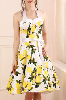Halter Lemon Dress
